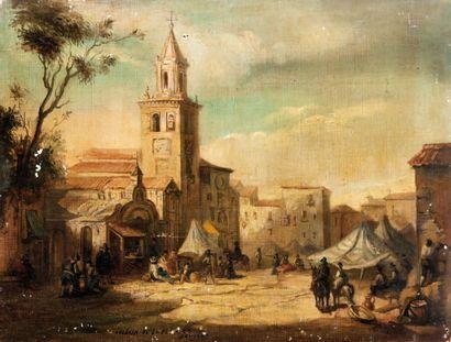 Ecole espagnole du XIXème siècle