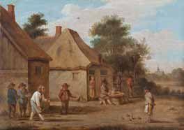 Ecole flamande du XVIIème siècle. Atelier de David Teniers.