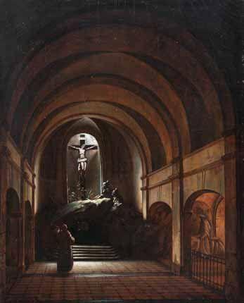 François-Marius GRANET (1775-1849) Attribué à