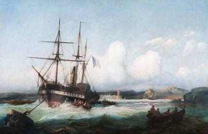 François-Pierre-Bernard BARRY (Marseille 1813-Saint-Laurent-du-Var 1905)