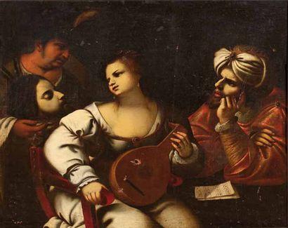 Pietro DELLA VECCHIA (1603-1678) Attribué à