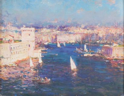 JEAN-BAPTISTE OLIVE (1848-1936)