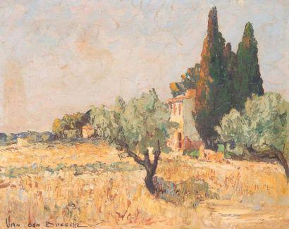 Jacques VAN DEN BUSSCHE (1925) Jacques VAN DEN BUSSCHE (1925)  Environ de Châteauneuf-les-Martigues...