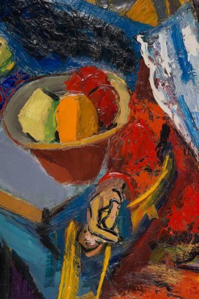 Pierre AMBROGIANI (1907-1985) Pierre AMBROGIANI (1907-1985)  L'Arlésienne  Huile...