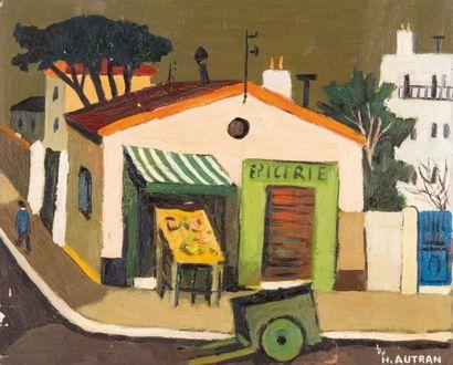 Henri AUTRAN (1926 - 2007)