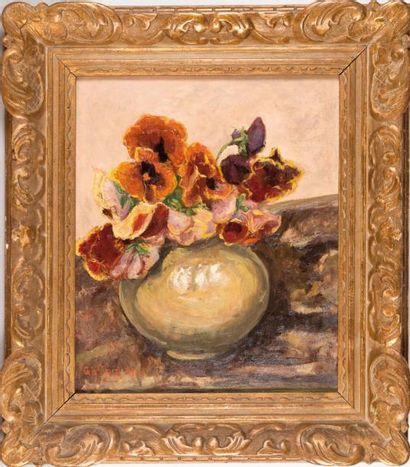Pierre Paul GIRIEUD (1876-1948) Pierre Paul GIRIEUD (1876-1948)  Le bouquet de coquelicots...