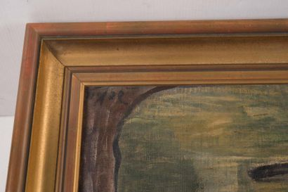 Anne Pierre de Kat (1881-1968) Anne Pierre DE KAT (1881-1968)  Le pont Neuf  Huile...