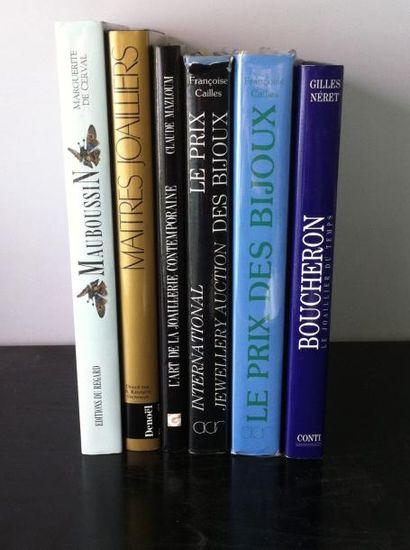 Lot de 6 ouvrages :