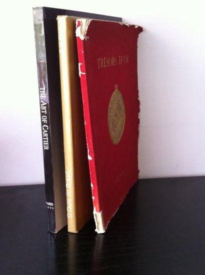 Lot de 3 ouvrages :