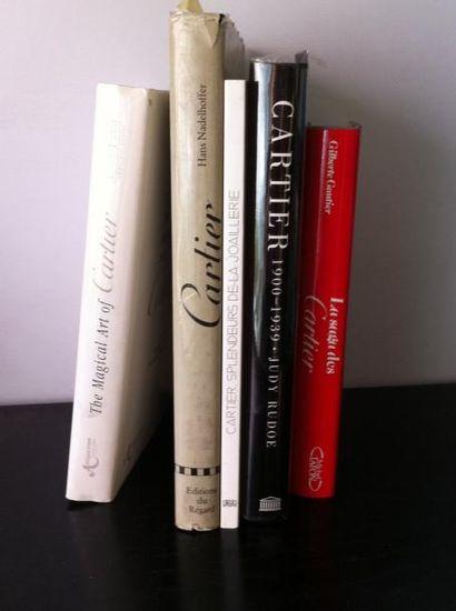 Lot de 5 ouvrages :