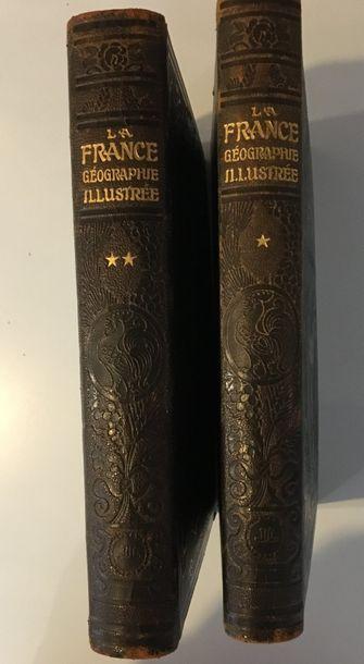 P.JOUSSET  La France Géographie Illustrée...