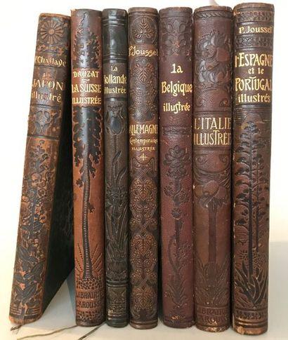 P.JOUSSET Librairie Larousse Paris.  L' Espagne...