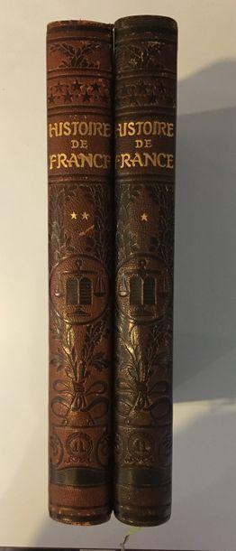 Histoire de France illustrée, Librairie Larousse...