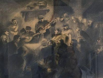 Lucien BOUCHER (1889-1977)  Veillée musicale...