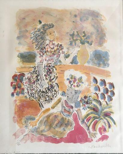 Constantin TERECHKOVITCH (1902 - 1978) Le...