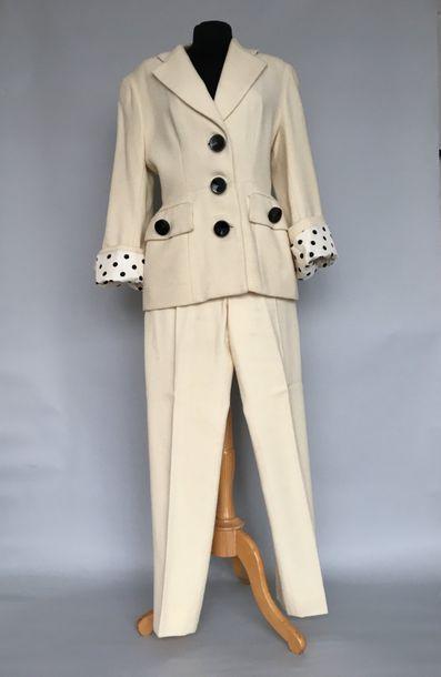 CHRISTIAN DIOR Boutique 147271 Tailleur pantalon...