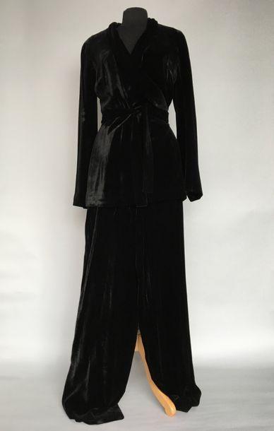 KATHARINE HAMNETT London Ensemble pantalon...