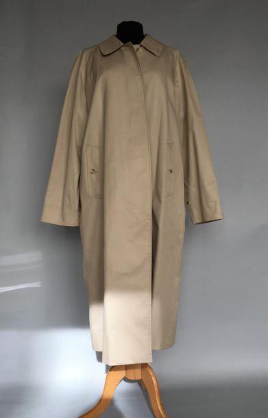 BURBERRY'S Imperméable en coton mastic taille...