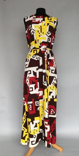 LANVIN Boutique Paris Robe longue en jersey...