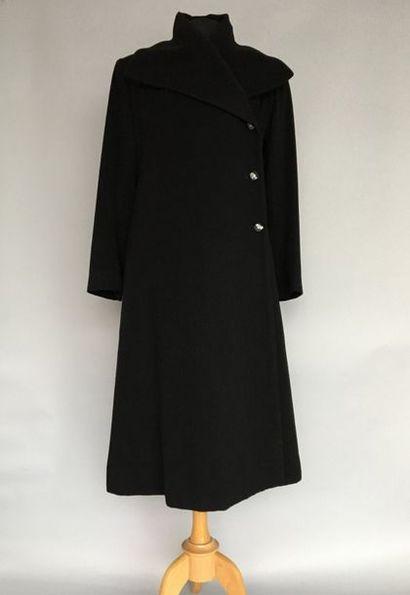 SONIA RYKIEL Paris Manteau en cachemire noir...