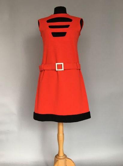Les Jerseys de PIERRE CARDIN Robe chasuble...