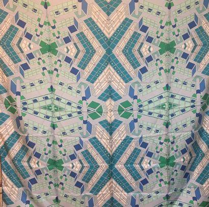HERMES - Grand carré 140 x 140 cm en summertwill...