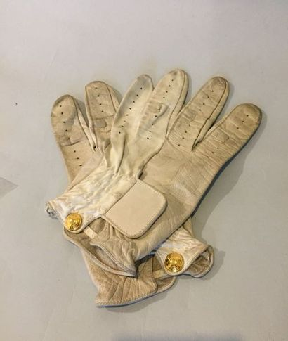 HERMES Paris Made in France  Paire de gants...
