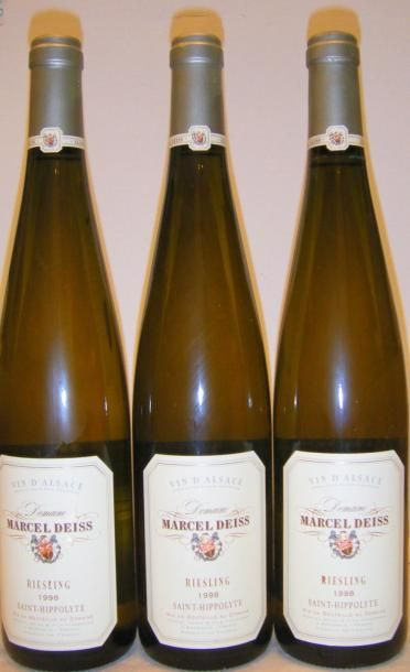 3 Bouteilles ALSACE RIESLING
