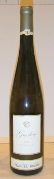 1 Bouteille GRASBERG - M. DEISS 2000
