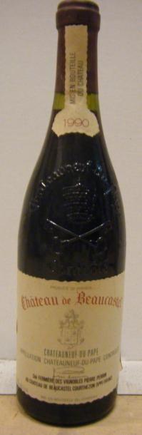 1 Bouteille BEAUCASTEL 1990