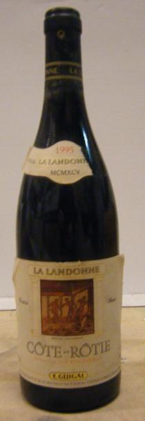 1 Bouteille LA LANDONNE 1995 Etiquette très...