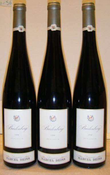 3 Bouteilles BURLENBERG - M. DEISS 1998