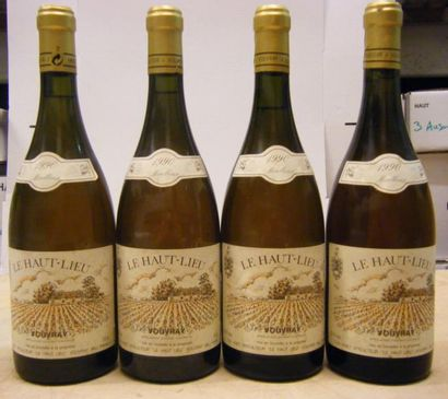 4 Bouteilles VOUVRAY