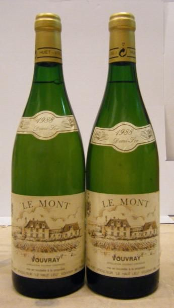 2 Bouteilles VOUVRAY