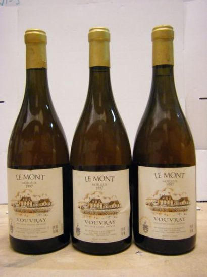 3 Bouteilles VOUVRAY