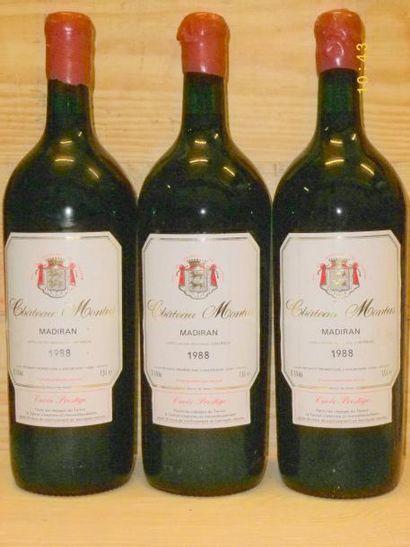 3 Magnums MADIRAN CHÂTEAU DE BOUSCASSE VIEILLES...