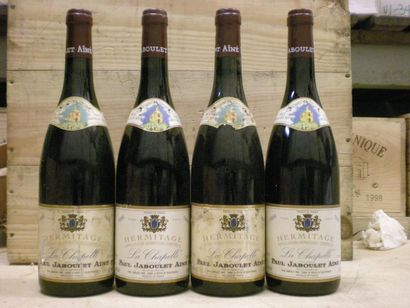 4 Bouteilles HERMITAGE