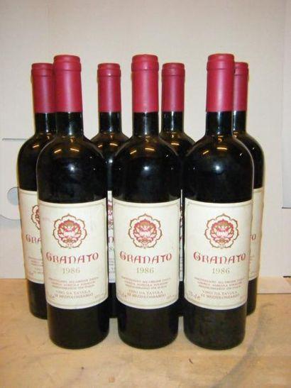 8 Bouteilles Italie - GRANATTO PIEMONT 1...