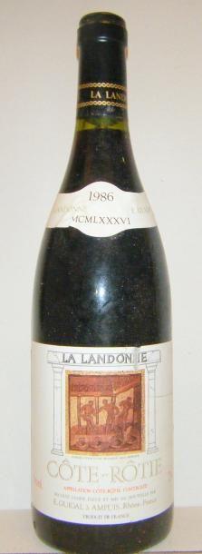 1 Bouteille LA LANDONNE 1986