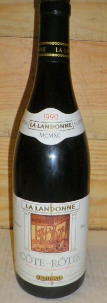 1 Bouteille LA LANDONNE 1990 Etiquette légèrement...