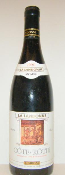 1 Bouteille LA LANDONNE 1990