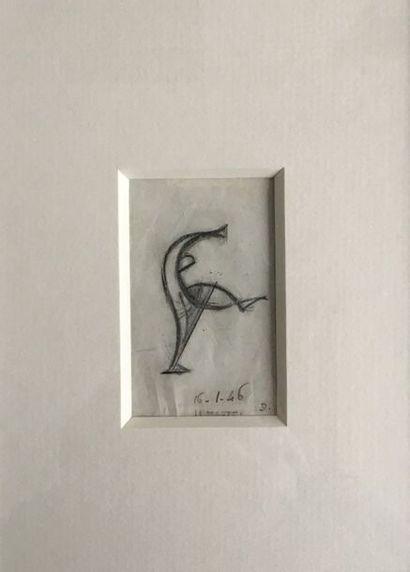 Jean et Joel MARTEL (1896-1966) L'acrobate...