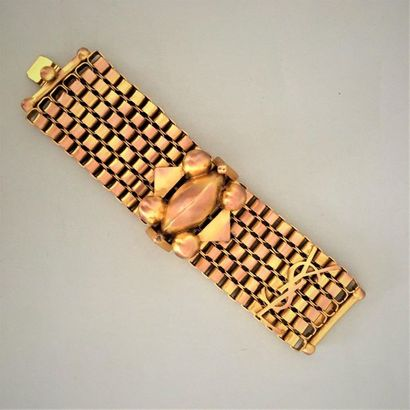 YVES SAINT LAURENT Large bracelet ruban en...