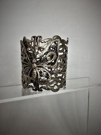 WOLLOCH Paris Bracelet manchette en métal...