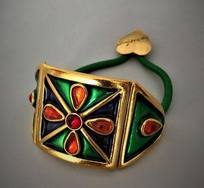 YVES SAINT LAURENT Bracelet réglable en cordionnet...