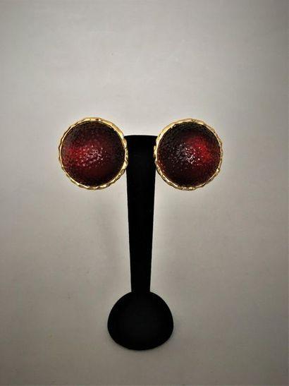 GOOSSENS Paris Paire de clips d'oreilles...