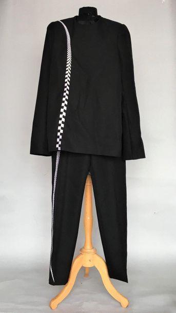 HAIDER ACKERMANN Ensemble tunique pantalon...