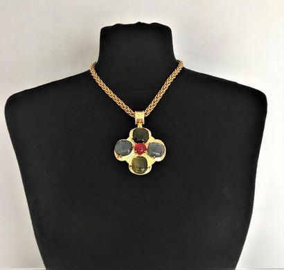 CHANEL Made in France Automne 97 Collier...