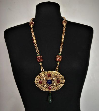CHANEL Made in France Printemps 97 Collier...