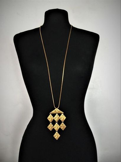 YVES SAINT LAURENT Made in France Long collier...